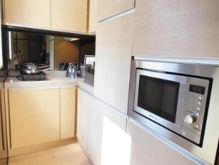 殷酒店式公寓 香港 - 厨房