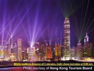 Canadian Hostel Hong Kong - Light Show