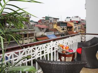 Golden Silk Boutique Hotel Hanoi - Balcony/Terrace
