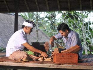 Komaneka at Monkey Forest Ubud Bali - Wood Carving