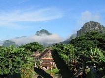 Villa Vang Vieng Riverside: view