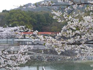 Kyoto Uji Hanayashiki Ukifune-en Kyoto - Sakura View