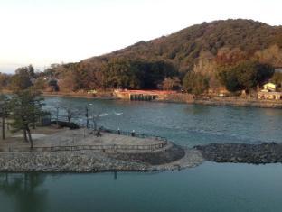 Kyoto Uji Hanayashiki Ukifune-en Kyoto - River view from Guest Room Yamabuki