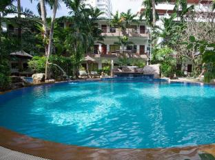 The Viridian Resort Phuket - Swimming pool sun bed corner
