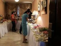 Al Muraqabat Plaza Hotel Apartments: buffet