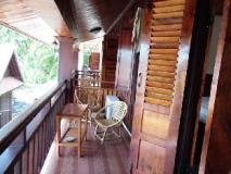 Cold River Guest House: balcony/terrace
