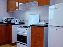 Arcadia Hotel Suites: kitchen