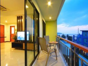 Kalim Beach Place Phuket - Balkon/Taras