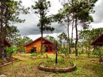Phouchan Resort: garden