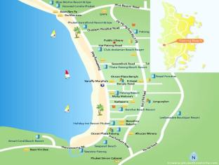 DDC House Phuket - Hotelkarte