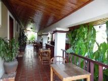 Lao Lu Lodge: balcony/terrace