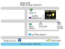 Mr Egg Hostel Original: map