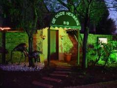De Oude Herberg B&B | Cheap Hotels in Pretoria South Africa