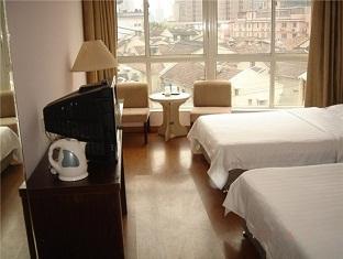 Yazhu Hotel Shanghai - Standard twin bed