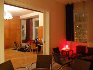 Goldmarie Hostel Berlin - Hotellet indefra