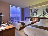 Habitació elegant amb 2 llits individuals
