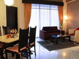 Condominium Danau Toba Hotel Medan - Living Room