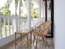 Morjim Club Resort: balcony/terrace