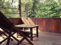 Tiger 'n' Woods Hotel: balcony/terrace