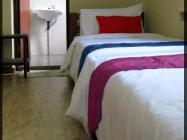 Dos llits amb bany