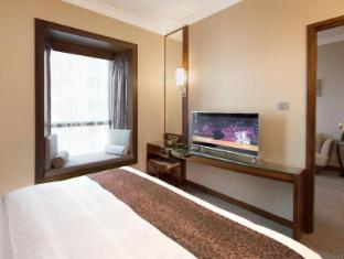 Rosedale Hotel Hong Kong Hong Kong - Deluxe Suite Bedroom