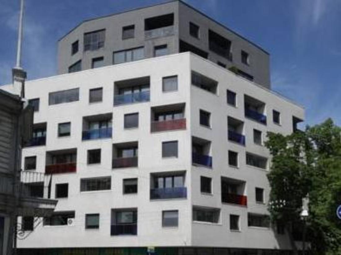 Фасада на хотела