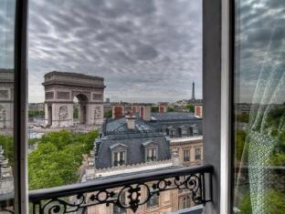 Splendid Etoile Hotel Paris - Aussicht
