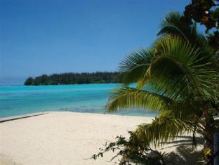 Hotel Hibiscus Moorea Island - The beach