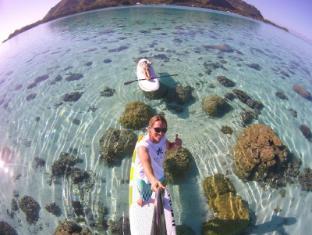 Hotel Hibiscus Moorea Island - Paddle board rentals