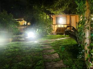 Samal Island Huts Davao Stadt - Garten