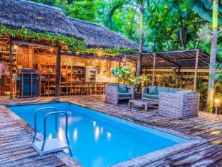 Samal Island Huts Davao Stadt - Schwimmbad