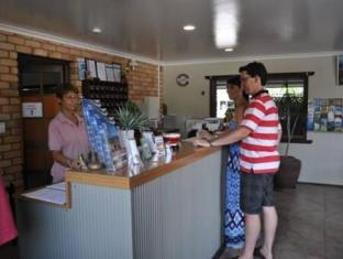 Castle Motor Lodge Whitsunday Islands - Khu vực lễ tân