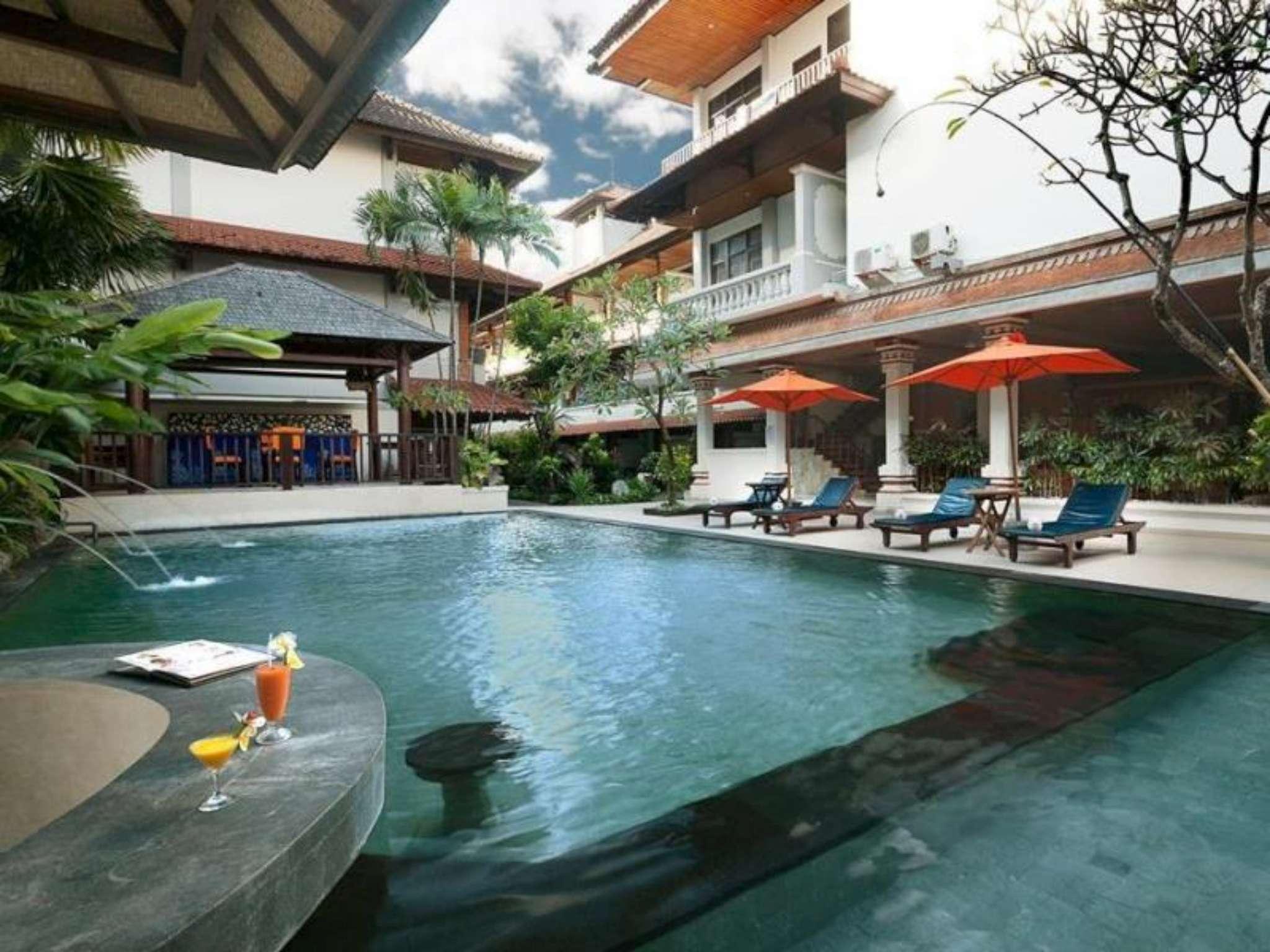 hotel di bali - Bali Summer Hotel Kuta