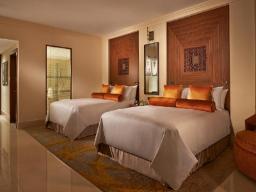 Fairmont Gold rum med 2 enkelsängar