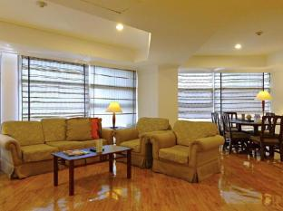 Greenstone Serviced Residences Makati Manila - 3 Bedroom Living and Dining Area
