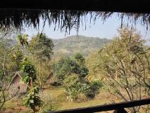 Khoun & Khone Bungalow: balcony/terrace