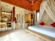 Studio Villa mit Gartenblick