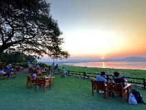 Bagan Thande Hotel, Old Bagan: view