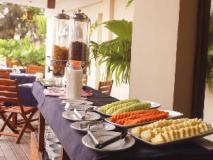 Pleasant View Resort: buffet