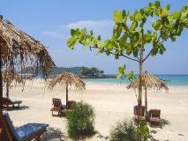 Pleasant View Resort: beach