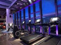 L'hotel elan: fitness room