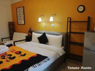 Tomato Rooms Hostel Taichung - Double