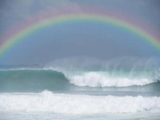 Tirta Ening Agung Bali - Rainbow at the beach
