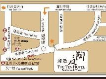 The Ten Hotel: map