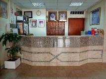 Al Buhaira Residence: reception