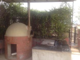 Metropolis Tourist Home New Delhi and NCR - wood fire pizza on roof top