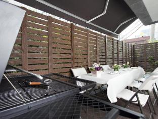 Cloud 9 Serviced Residence Seoul - Balcony/Terrace