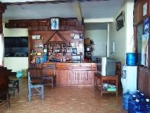 Pon's River Guesthouse: reception