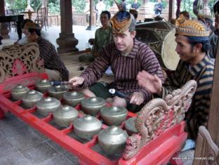 Kaliandra Sejati Eco Resort Trawas - Learn How to Play Gamelan