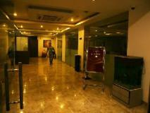 Le Crescent Hotel: lobby